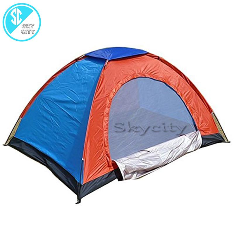 Skycity Ds372 2/4/6/8 Person Waterproof Outdoor Dome Camping Family Hiking Tent (multicolor) By Skycity.