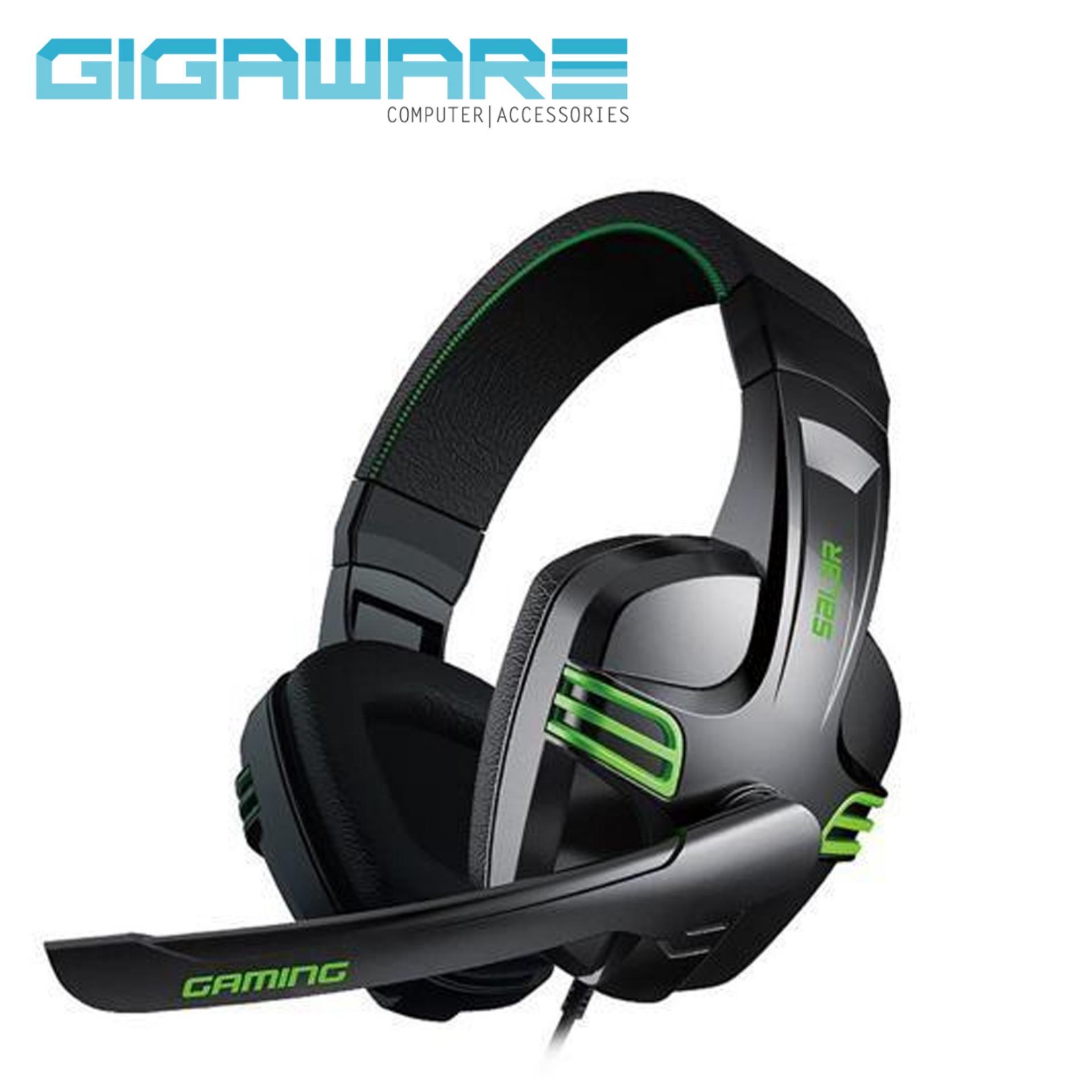Salar KX 101 Gaming Headset Black