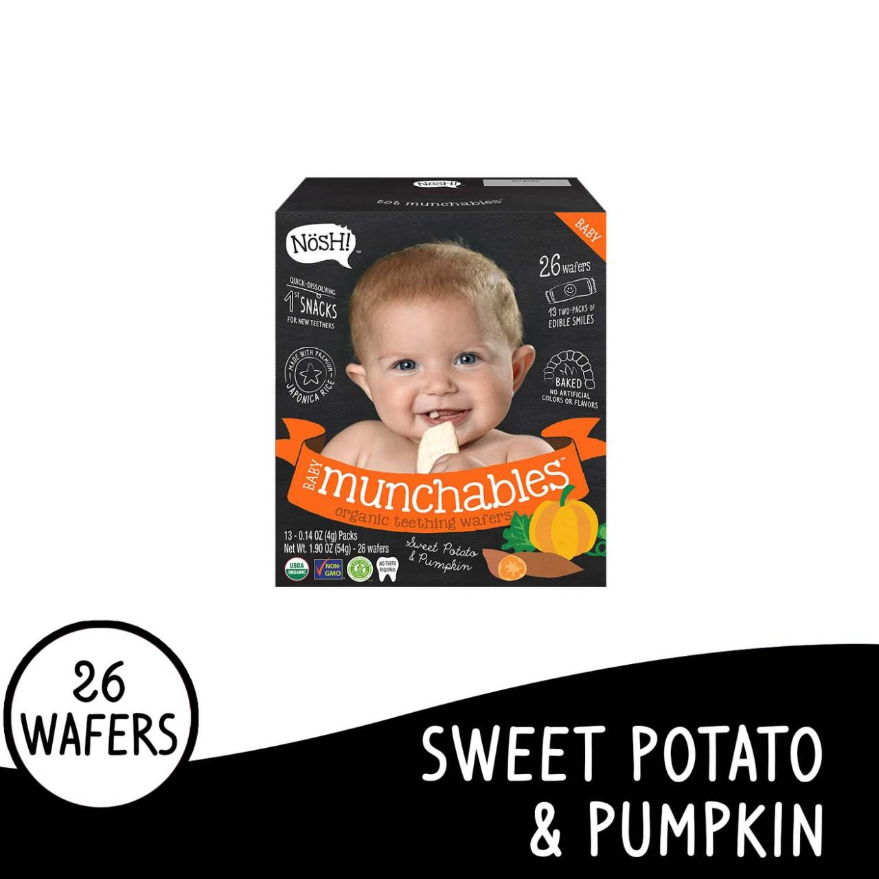 Nosh Baby Munchables Sweet Potato & Pumkin By Nosh Baby Ph.