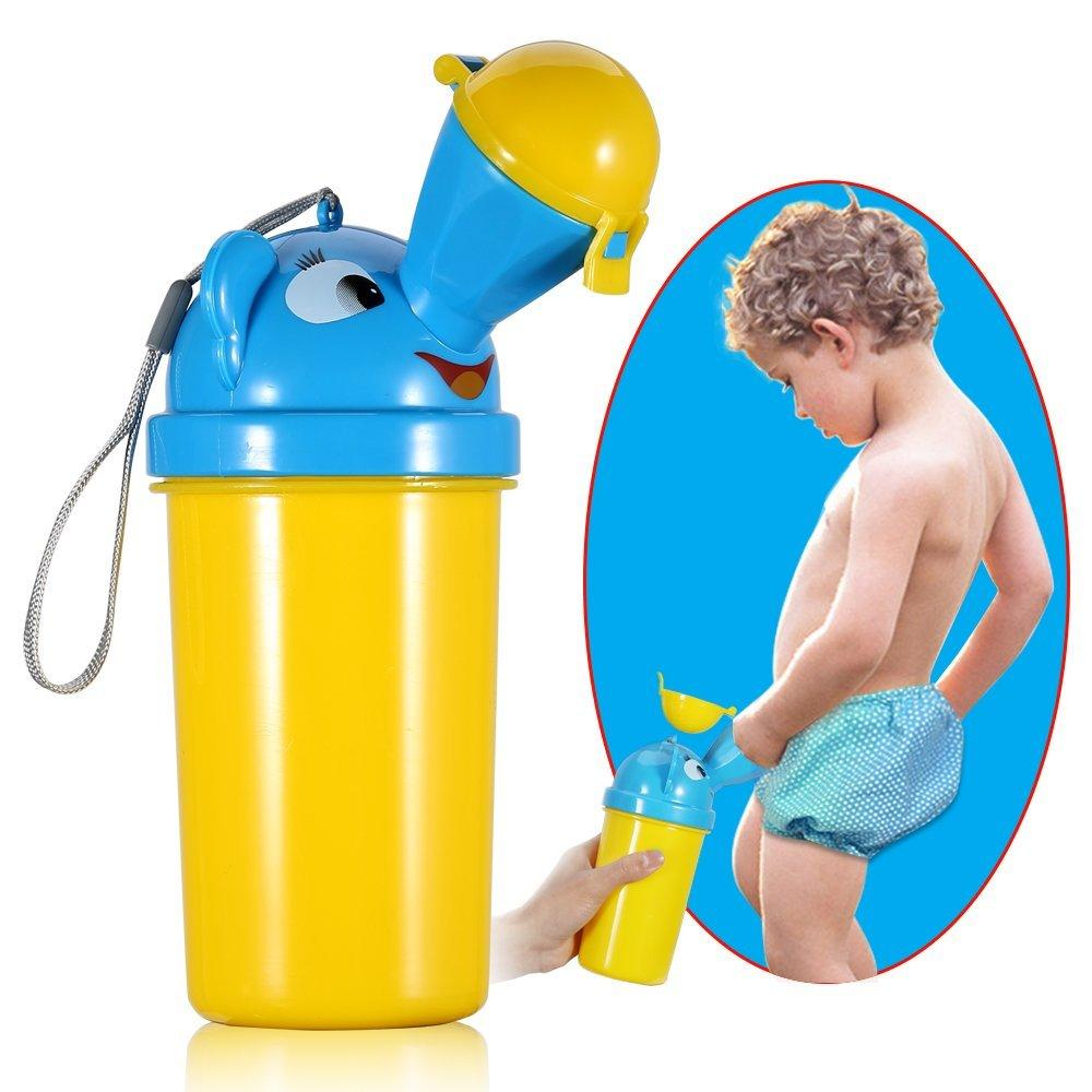 Portable Kids Baby Urinal Potty Bottle Emergency Toilet for Camping Car Travel Baby Urinals, Car