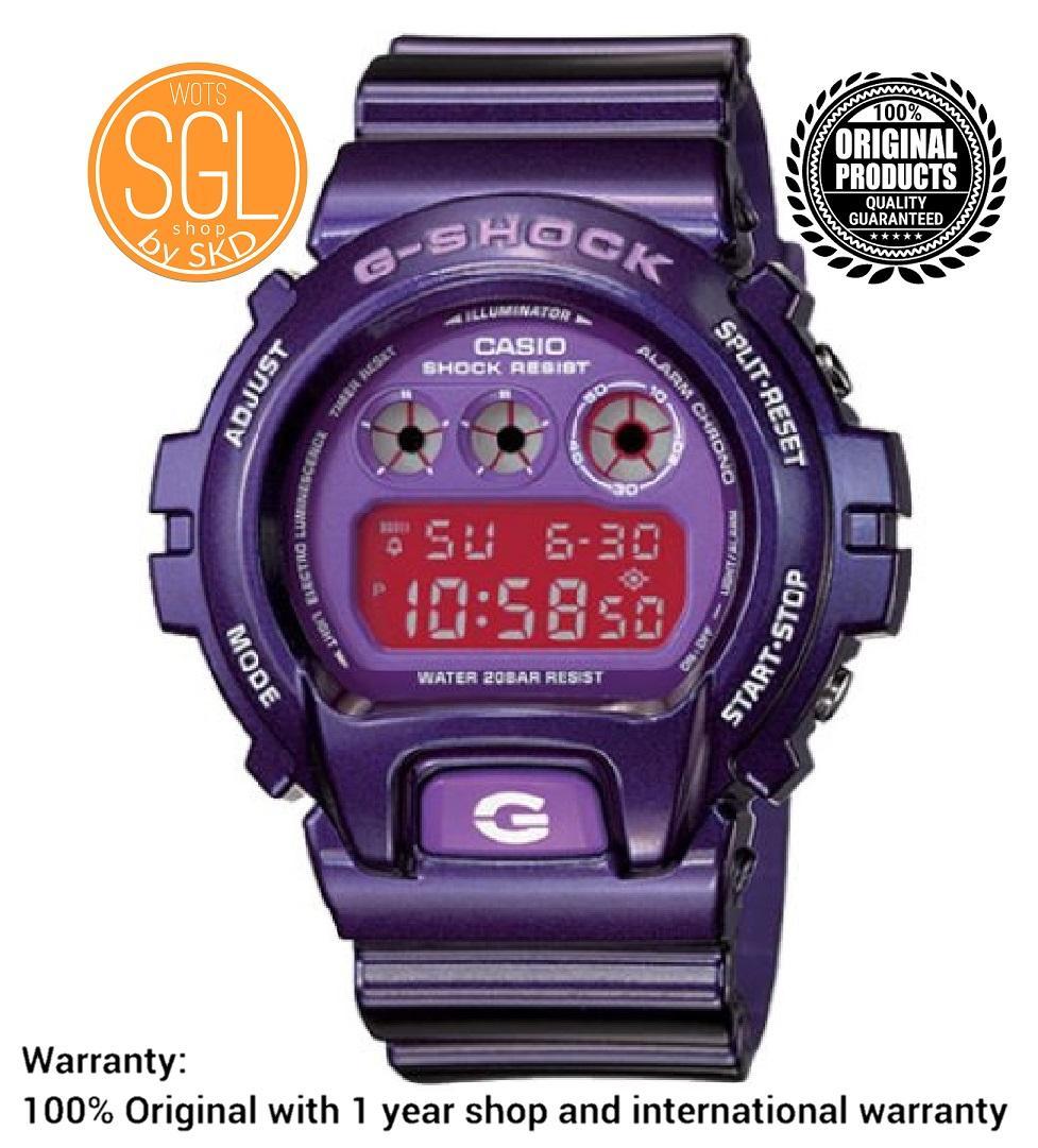 46460a04d072 Casio G Shock Midsized Digital PURPLE VIOLET Watch DW6900CC-6 SGL WOTS SHOP