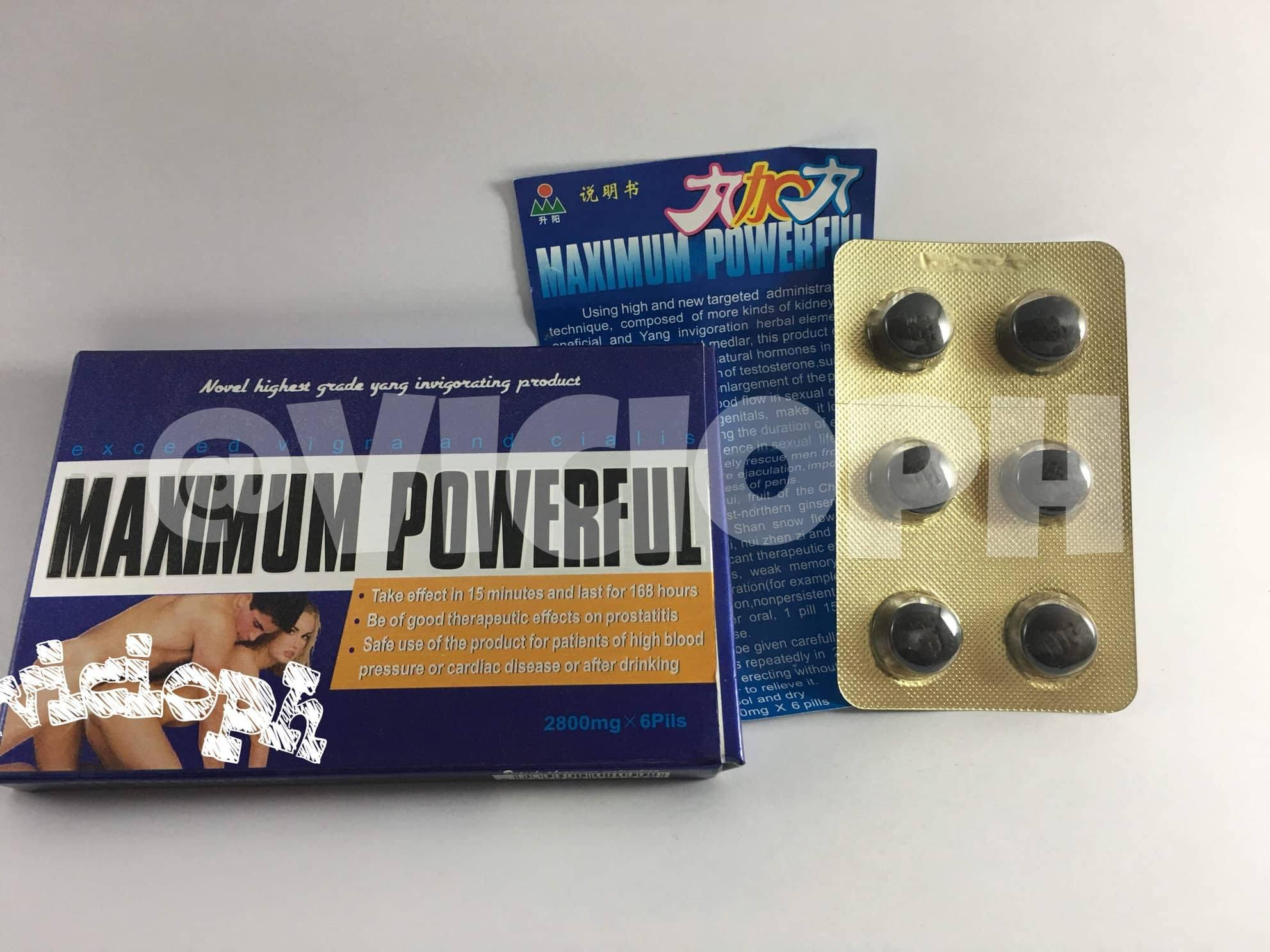 Maximum Powerful Supplement Enhancer For Men Tablet By Vicio.