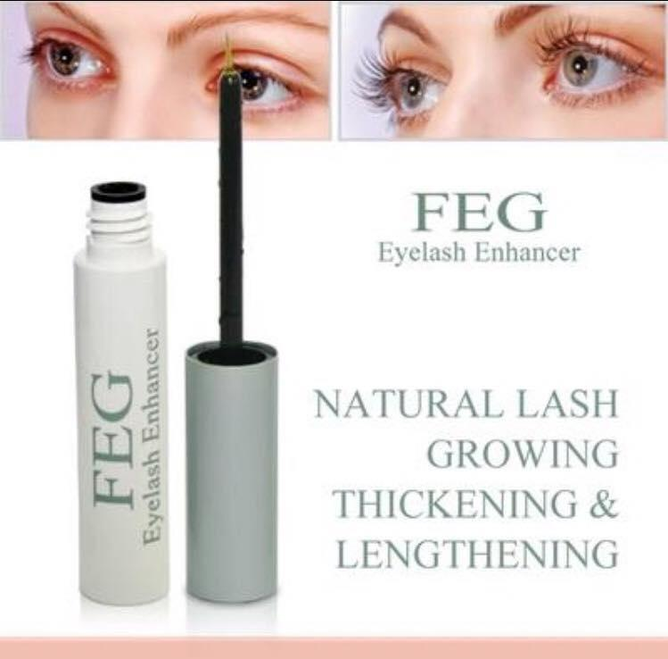 FEG Eyelash Enhancer Eye Lash Rapid Growth Serum Liquid 100% Natural 3ml Philippines