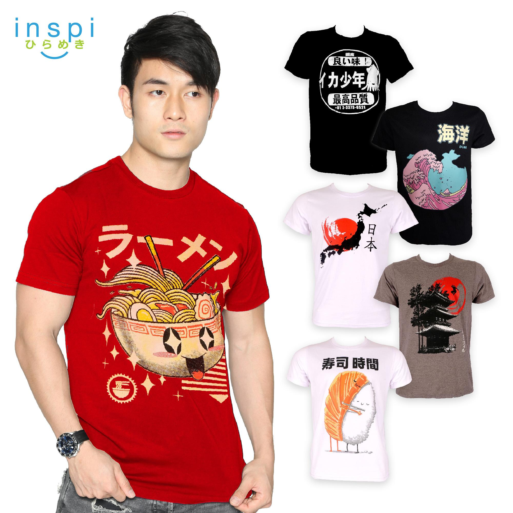 e141896540e INSPI Tees Nippon Collection tshirt printed graphic tee Mens t shirt shirts  for men tshirts sale