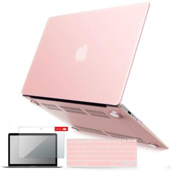MacBook Plastic Hard Case Shell with Keyboard Cover with Screen Protector Compatible MacBook Air 13 Inch (Models: A1369 and A1466) Release 2018/ 2017/ 2016 / 2015 / 2014 / 2013 / 2012 (NEWEST VERSION)