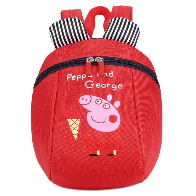 5f4cb720aba UISN MALL PepaPig Anti-lost children backpack Kids Backpack School Backpack   931