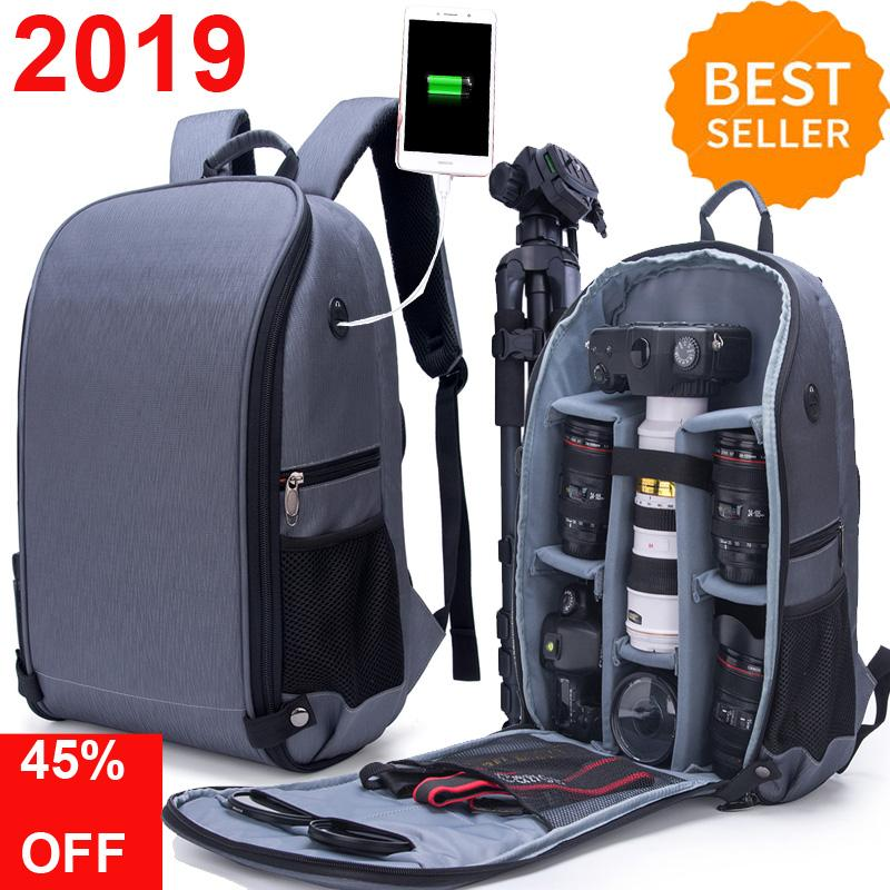 2019 newest foldable Waterproof Camera Package Backpack Bag for Canon,  Nikon, Sony, Olympus 4cb689fad2