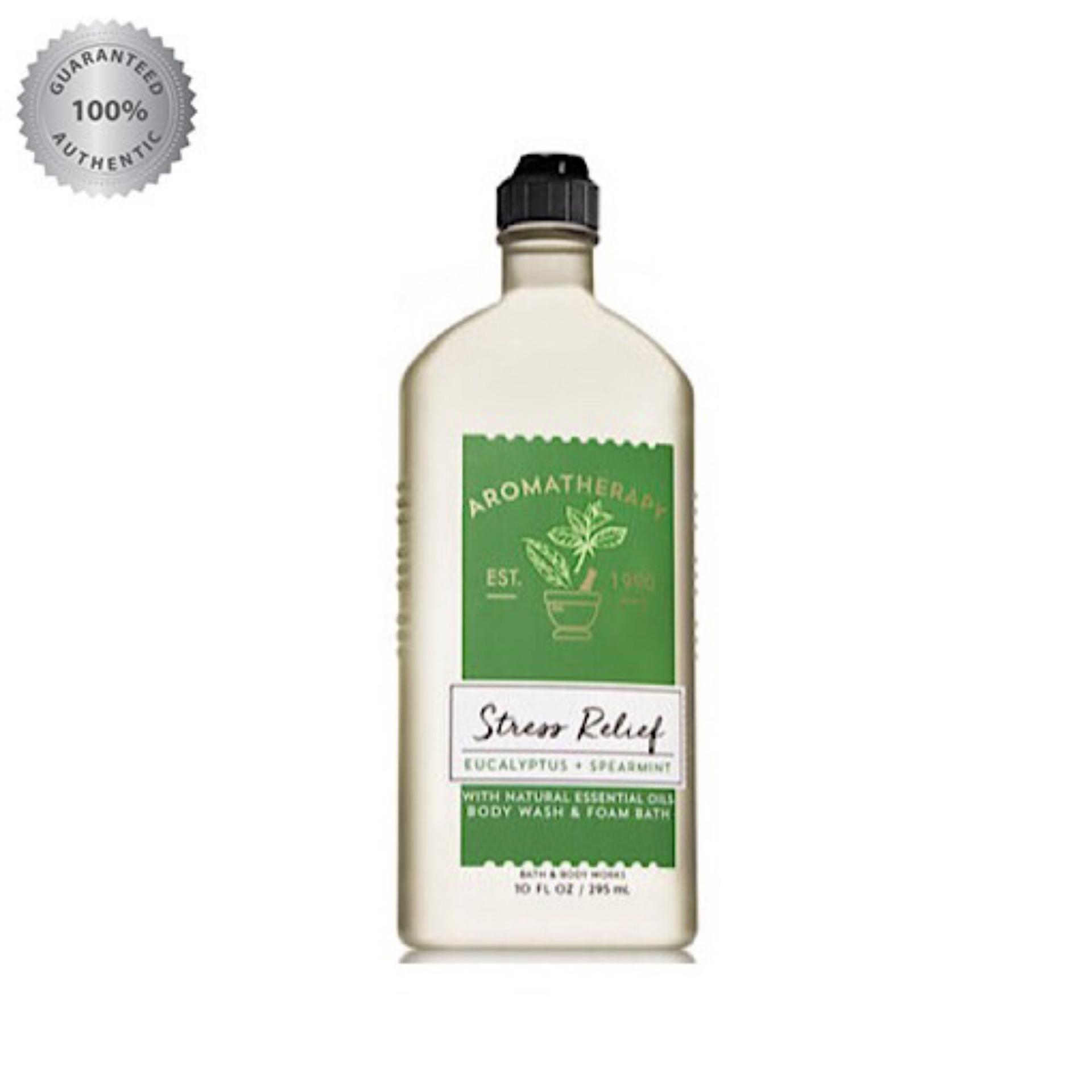 aae5792fb4201 Aromatherapy STRESS RELIEF - EUCALYPTUS   SPEARMINT Body Wash   Foam Bath  295ML