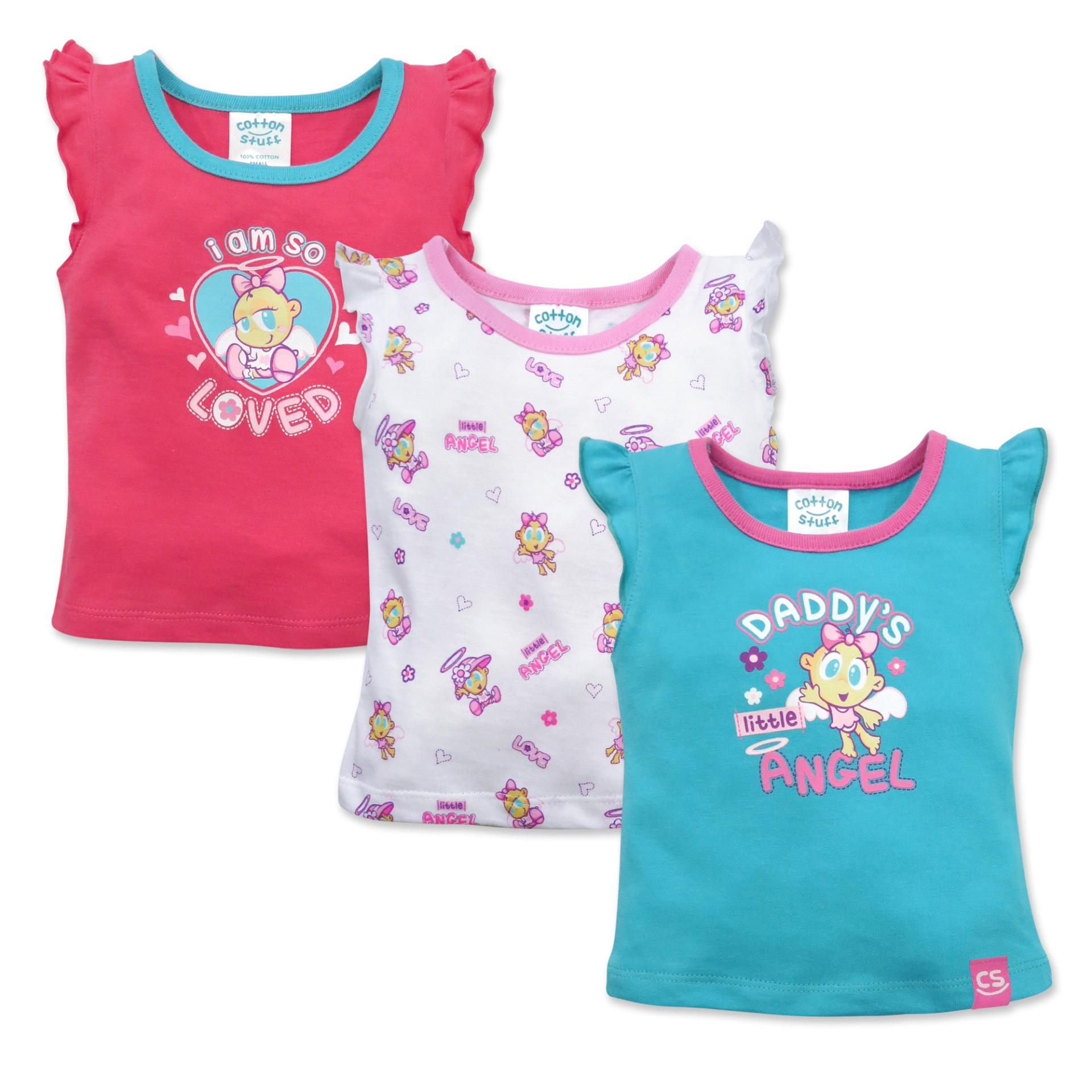 Young Girls Clothing For Sale Baby Online I Am Cotton Sleeveless Romper Blue Sea Stuff 3 Piece Ruffle Blouse Im So Loved