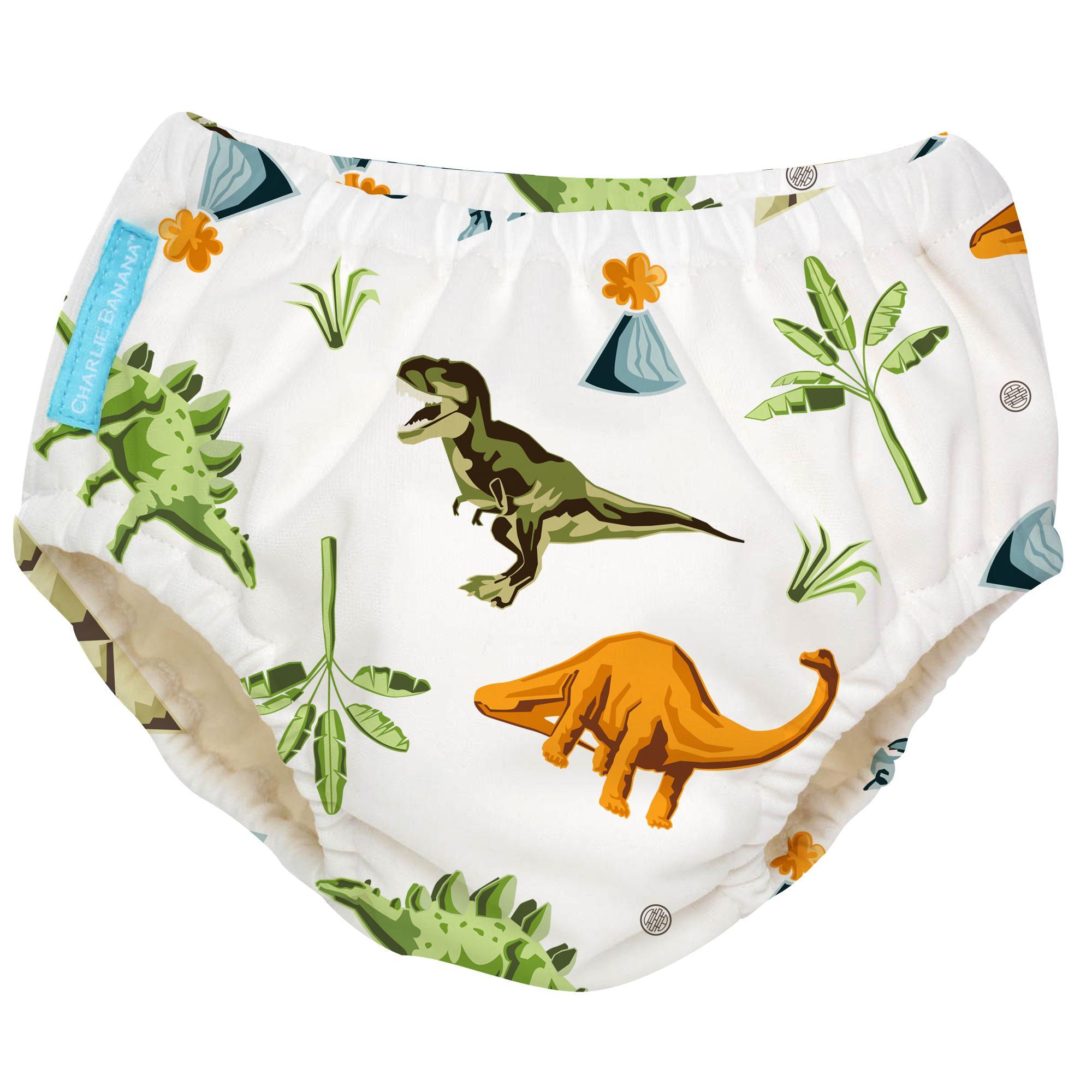Charlie Banana Dinosaur 2-In-1 Swimming Diaper/training Pants By Borderless Exchange Enterprises Inc..