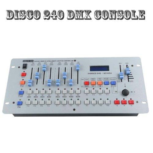 DMX Controller DMX 512 DJ Lighting Disco 240 CH Controller Console For  Stage Light Mixing Desk