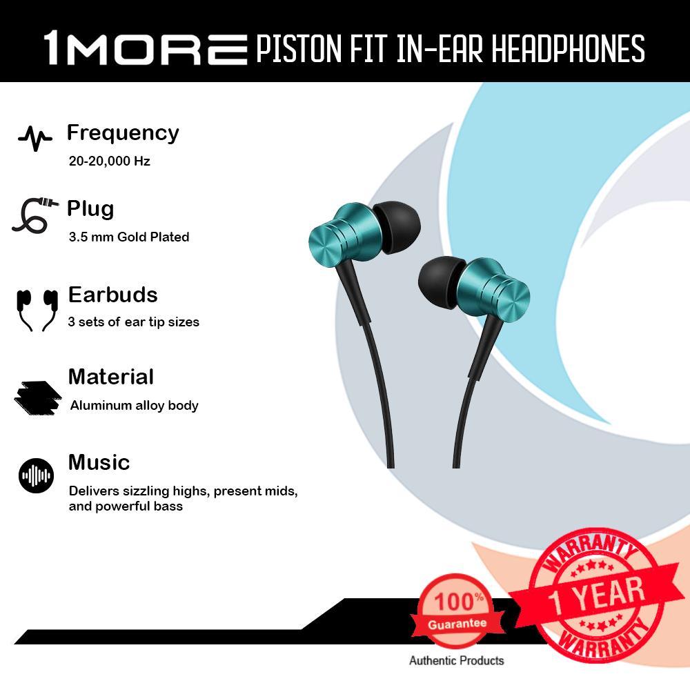 In Ear Headphone For Sale Headphones Prices Brands Specs Earphone 1more Piston Fit