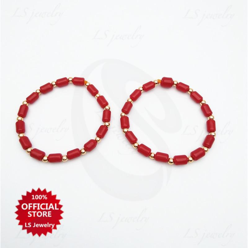 Buy 1 Take 1 Ls Jewelry Coral Pair Bracelet For Kids B1102 By Ls Jewelry.