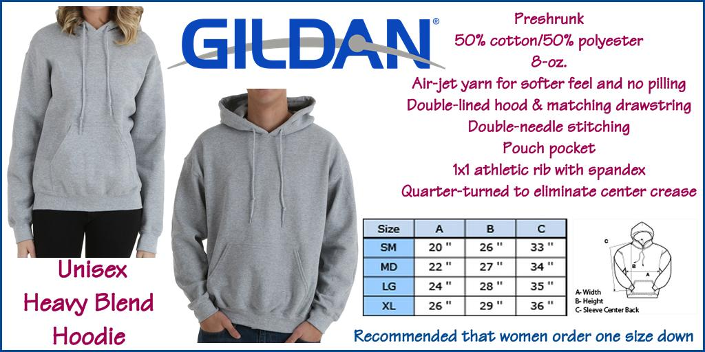 Sale Original Plain White Gildan Hoodie
