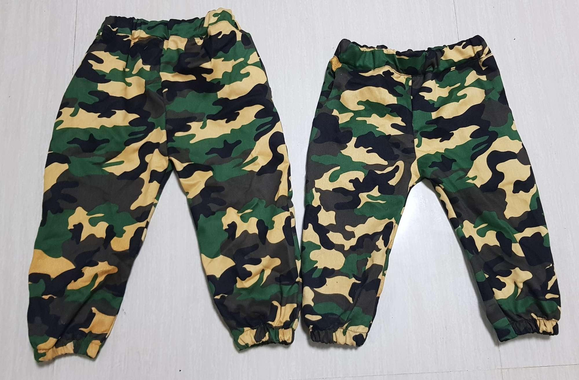 Kids Camouflage Jogger By Plus Size Boutique.