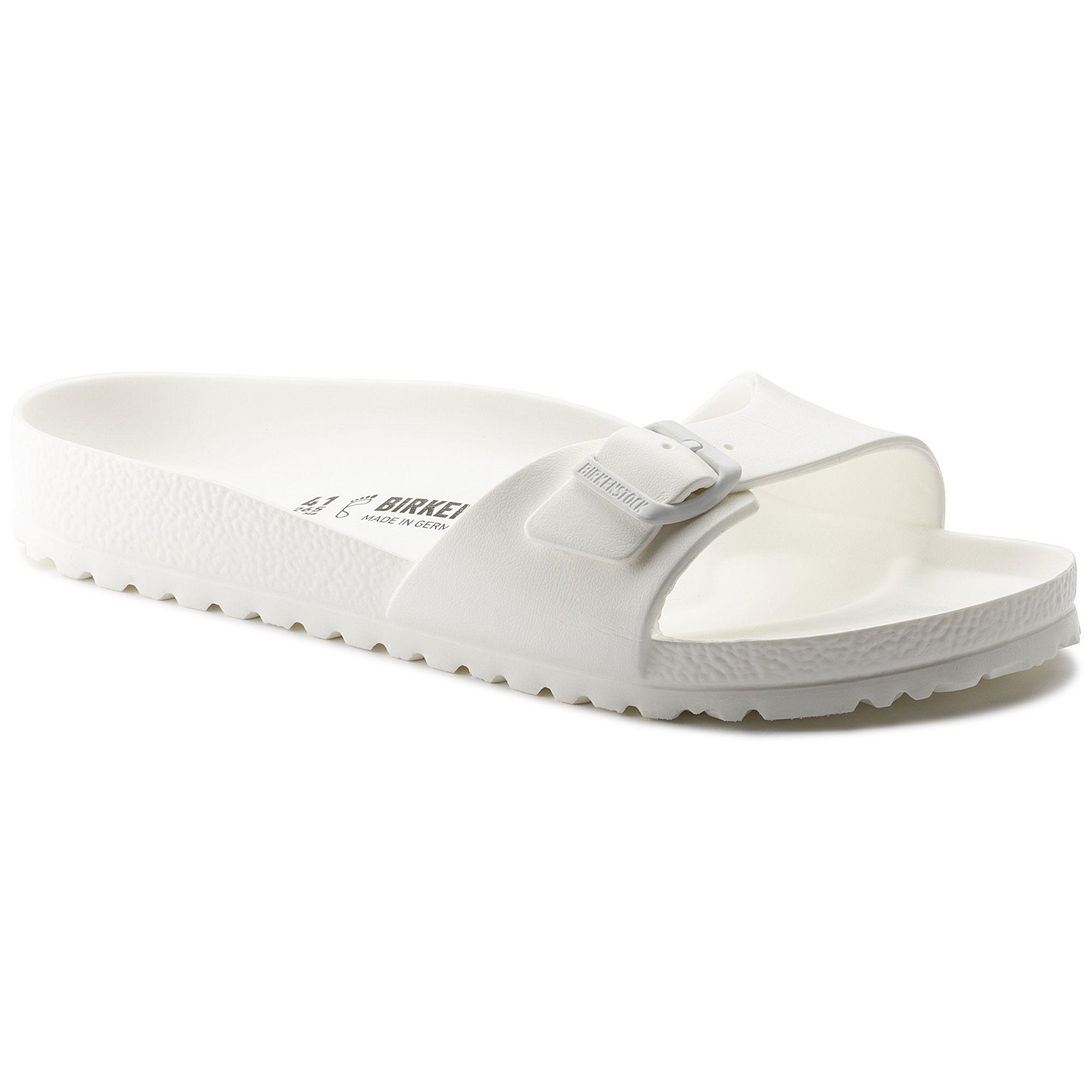 8feead99c33b Birkenstocks Women Sandals Women Water-friendly Madrid EVA White Summer  sandals fashion slippers