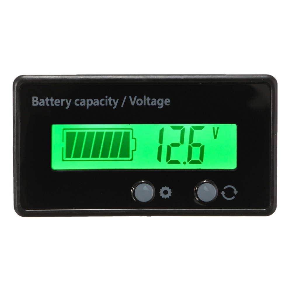 6V//12V//24V//36V//48V// Lithium Lead-acid Battery Capacity Indicator Display Board