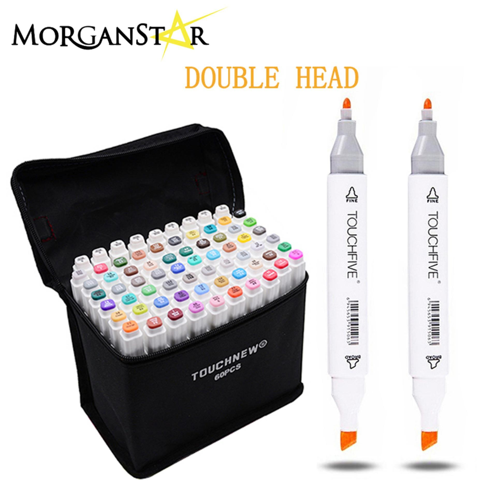 Touchfive / Touch Five Colors Graphic Art Twin Marker Point Tip Pen 36 Colors (white) By Morganstar Marketing.