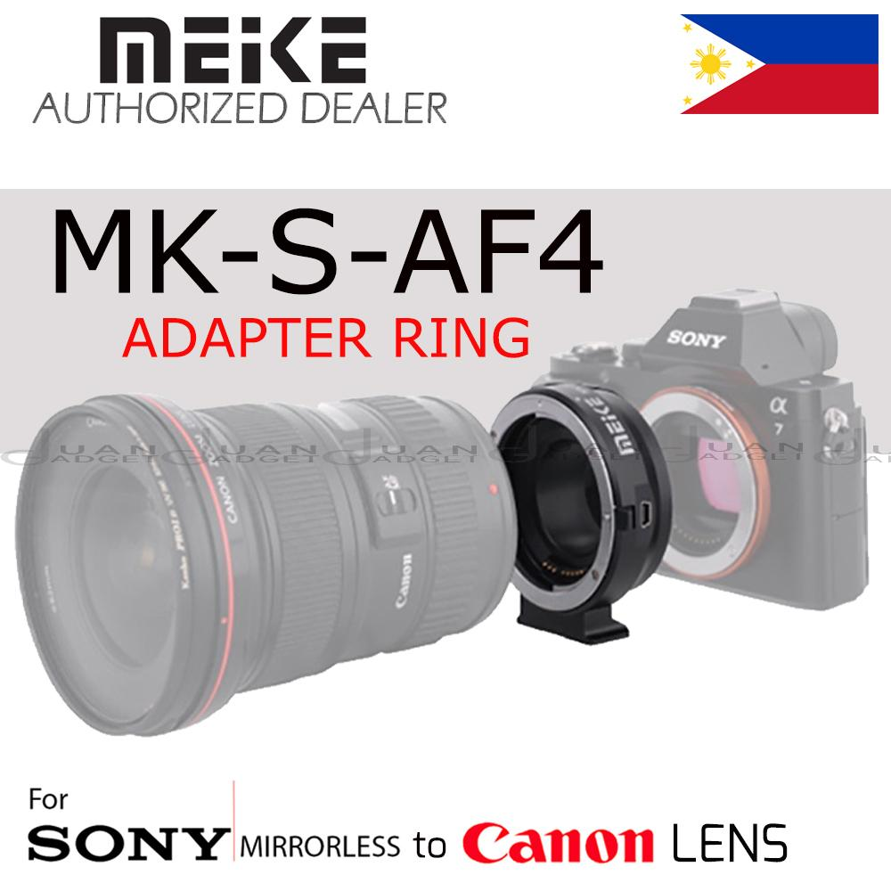 Camera Lens Adapters For Sale Connectors Prices And Circuit Board Digital Photography Concept Meike Mk S Af4 Auto Focus Mount Adapter Ring Sony Micro Single