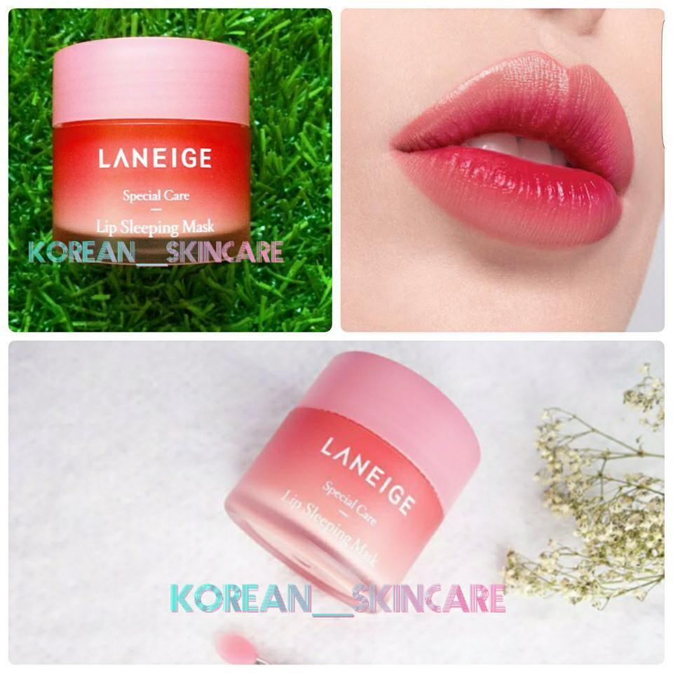 Buy Sell Cheapest Lip Sleeping Mask Best Quality Product Deals Laneige Travel Size Special Care 3g