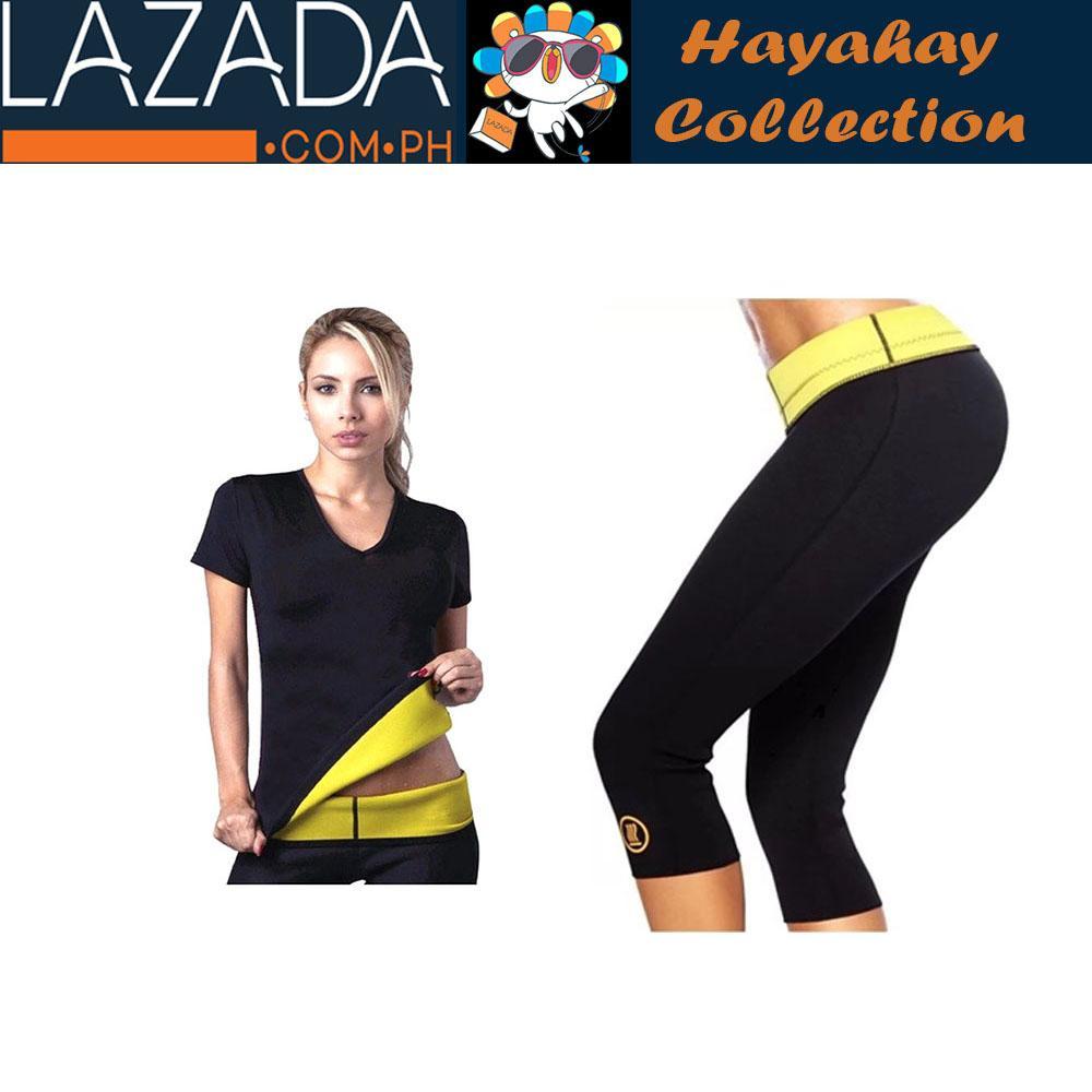 fd49caad94132 Hot Shaper T-Shirt with Hot Shaper Pants