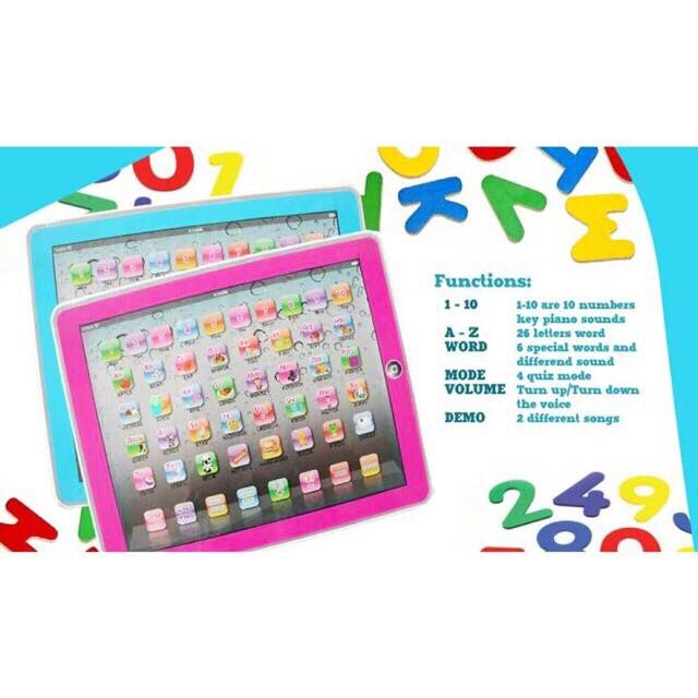 Y Pad English Computer Tablet Learning Education Machine Toy By Vtow Cp Gadget.