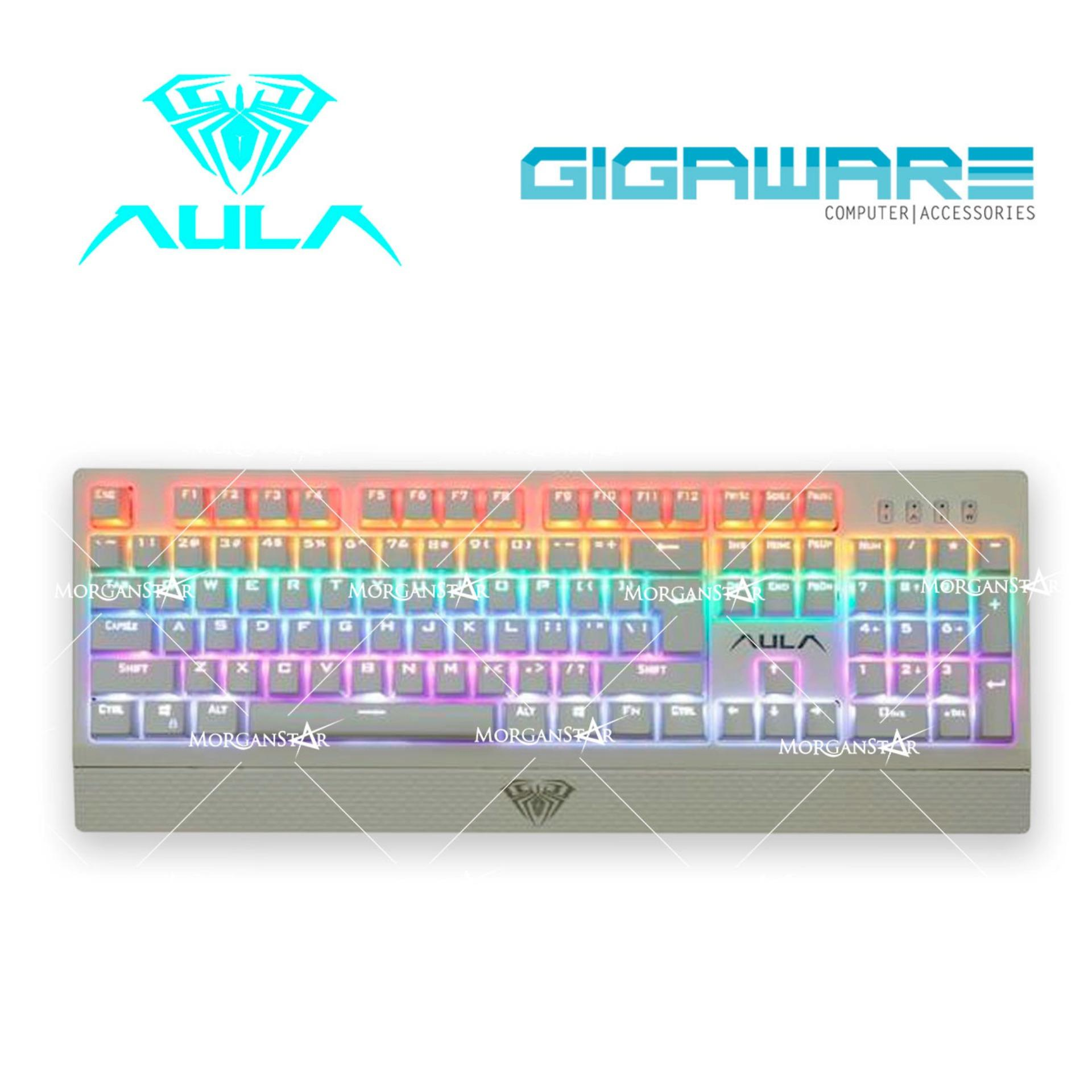 Aula Philippines Gaming Keyboards For Sale Prices Reviews Computer Keyboard Diagram Kids Official Si 890s Rainbow Led Wings Of Liberty Mechanical 104keys Multi