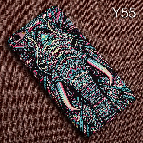South Korea Creative Night Light Animal VivoY67 Phone Case Cool Dull Polish Y55 Relief Hard Case
