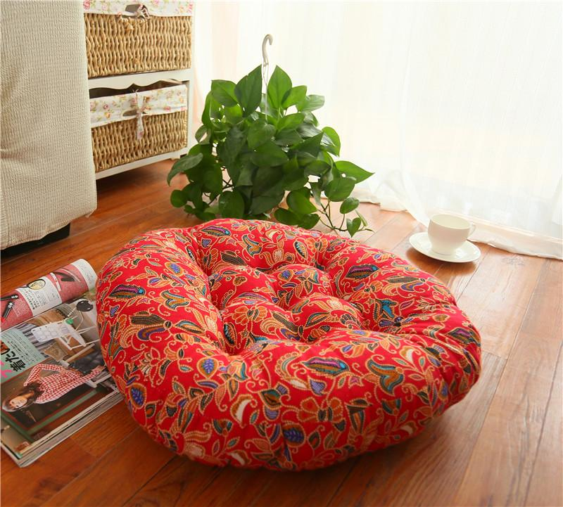 Sofa Cushion Bay Window Round Office Students Padded Computer Futon Floor