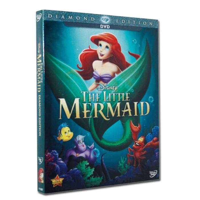 The Little Mermaid Dvd By Lifebooks.