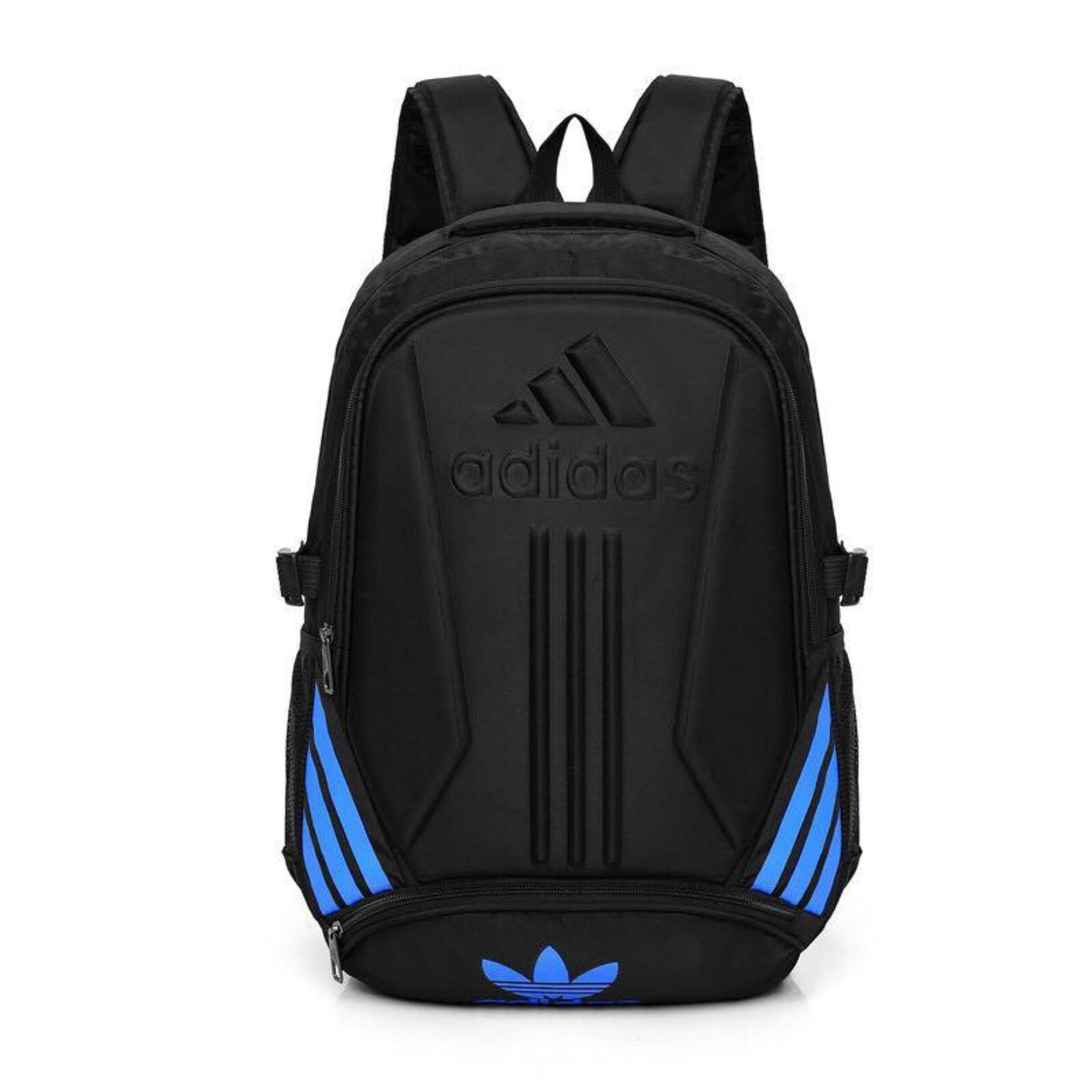beb59d76149 Philippines. Blue Logo ADIDAS Laptop Sport Travel Backpack 18 inches - Good  Quality and material used