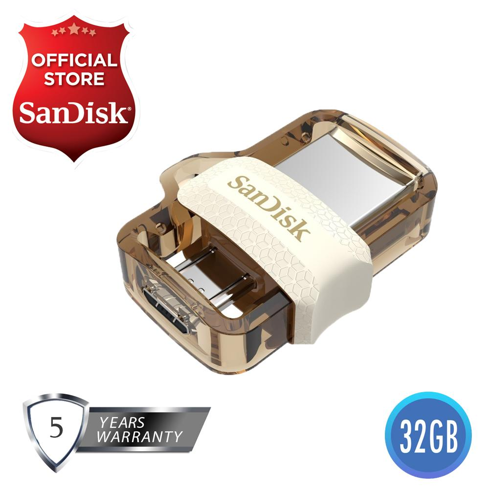 Usb Otg For Sale Drives Prices Brands Specs In Flashdisk C Sandisk 32gb Black Ultra Sddd3 032g Dual Drive M30 Gold