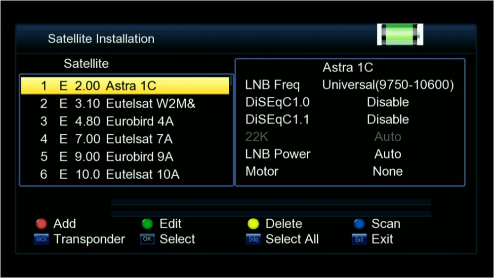 Freesat V8 Finder HD DVB-S2 High Definition satlink Satellite MPEG-4  3 5inch LCD Display - intl