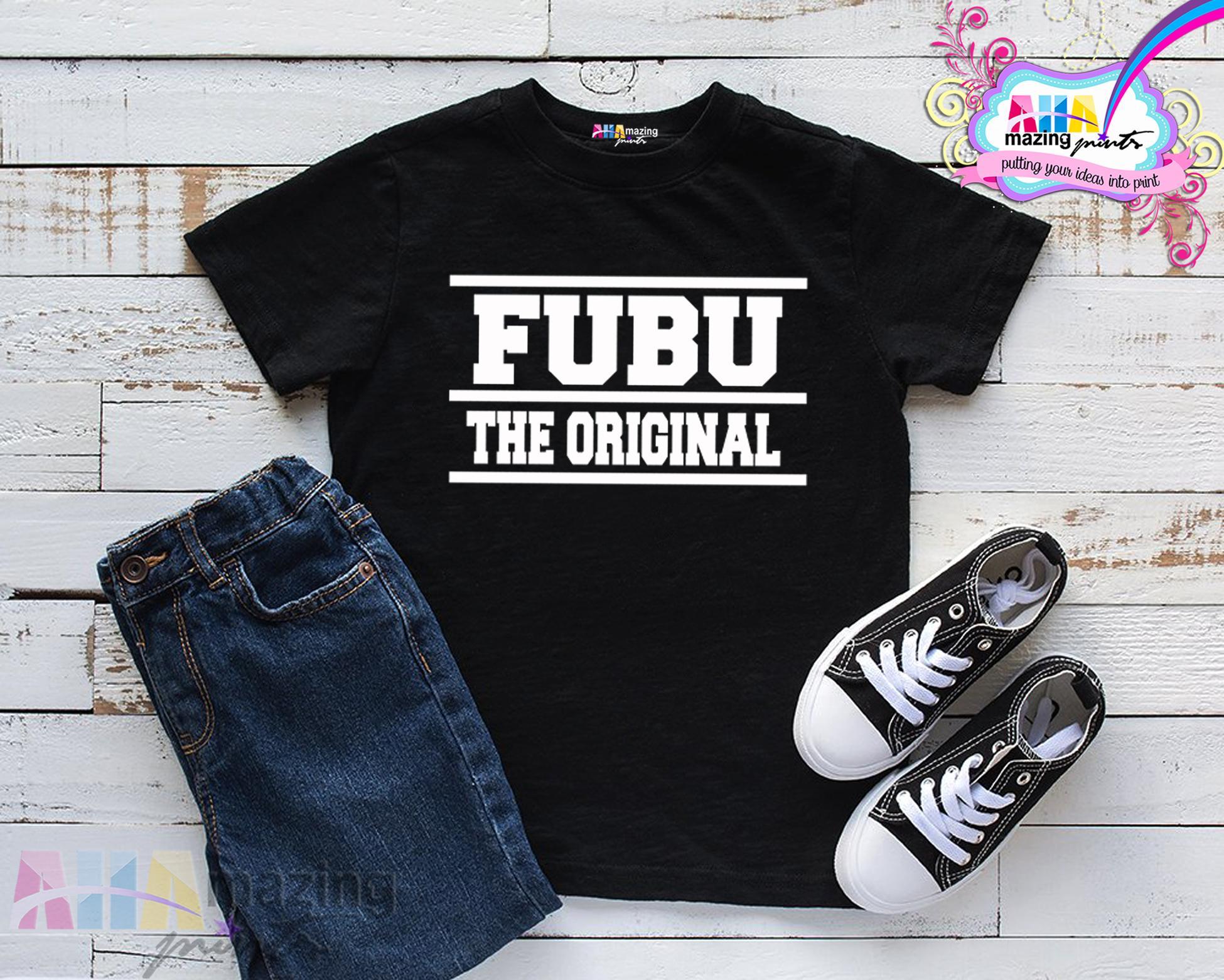 Kids Shirt Fubu Original For Little Boy Ahamazing Pritns Kids Fashion Top Boys Little Boyscotton Statement Shirt Casual Custom Shirt Childrens