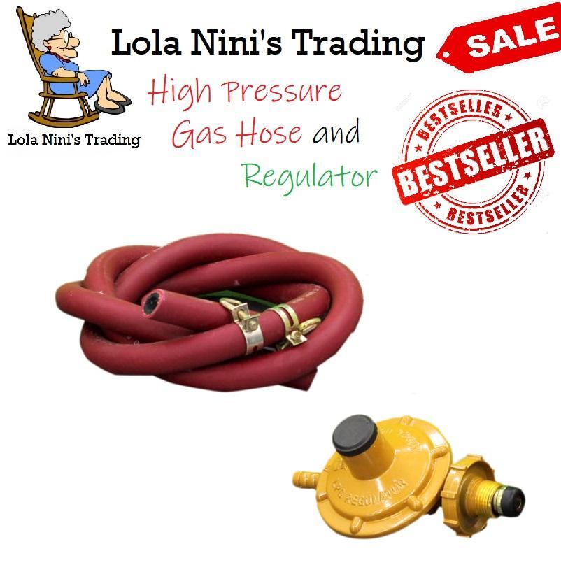 M-Gas Regulator And Lpg Hose By Lola Ninis Trading.