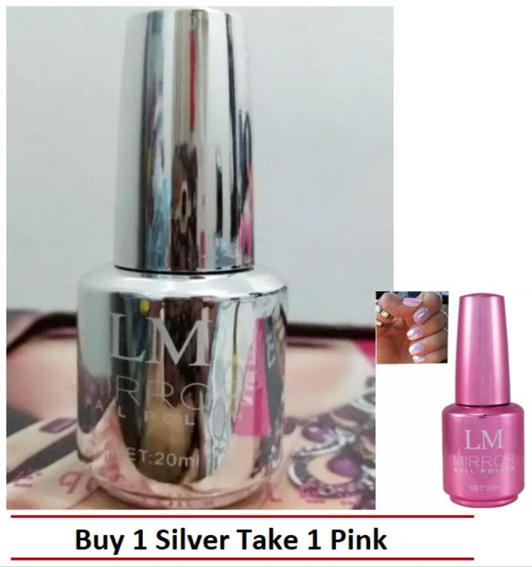 LM Mirror Nail Polish, Silver, Buy 1 Take 1 Philippines