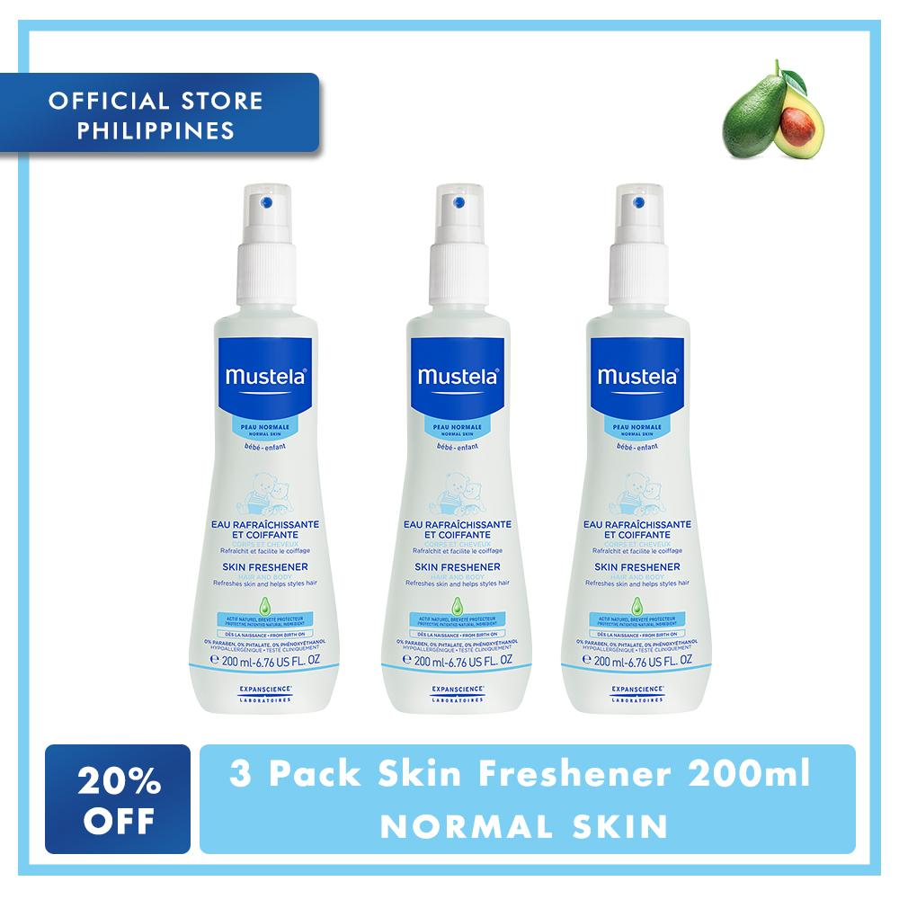 Mustela 3 Pack Skin Freshener 200 Ml By Mustela Philippines.