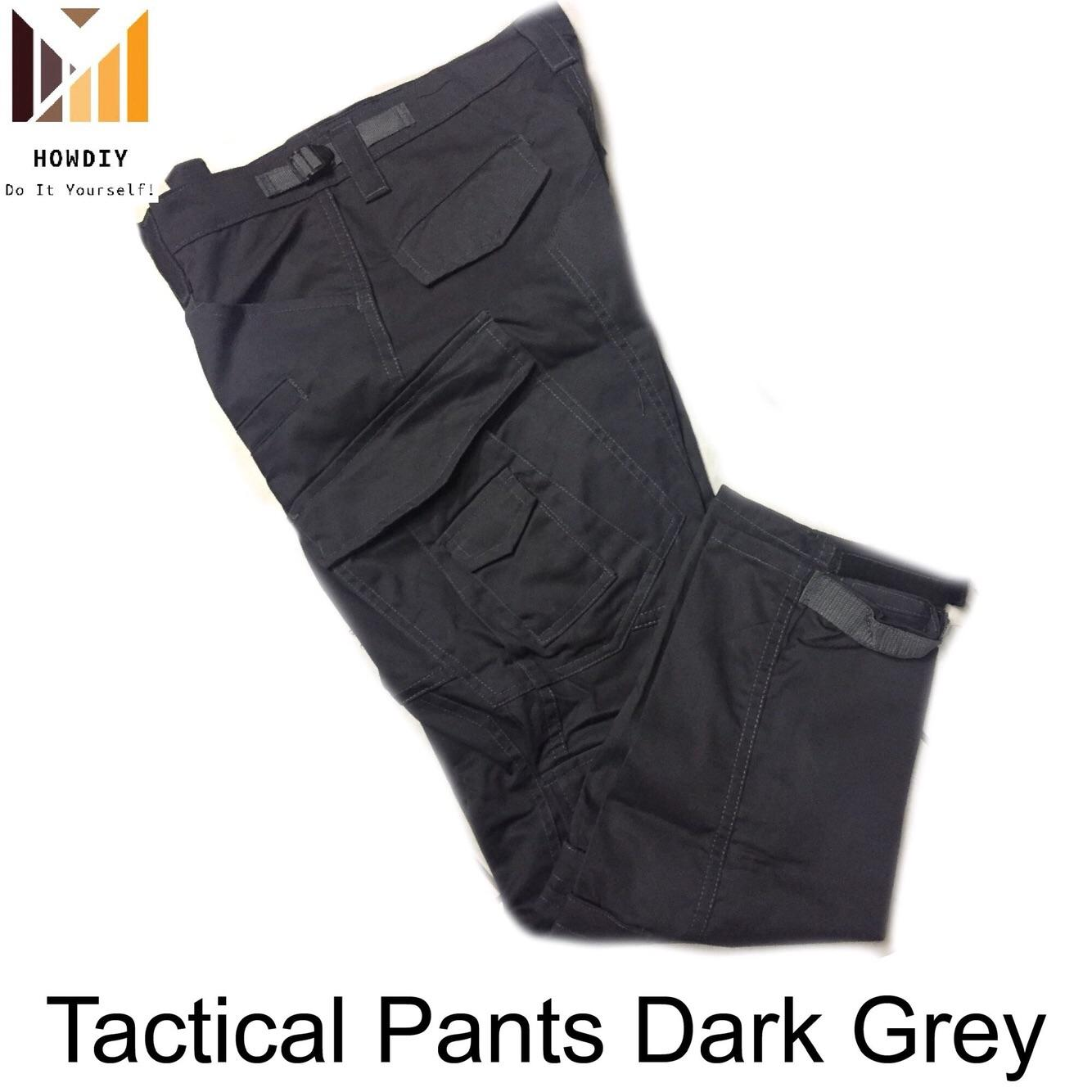 Tactical Pants for Men High Quality Dark Grey