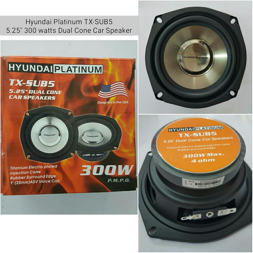 Car Speakers For Sale Speaker Cars Online Brands Prices Polk Audio Subwoofer Wiring Kits Hyundai Platinum Tx Sub5 525 300 Watts Dual Cone 4 Ohms