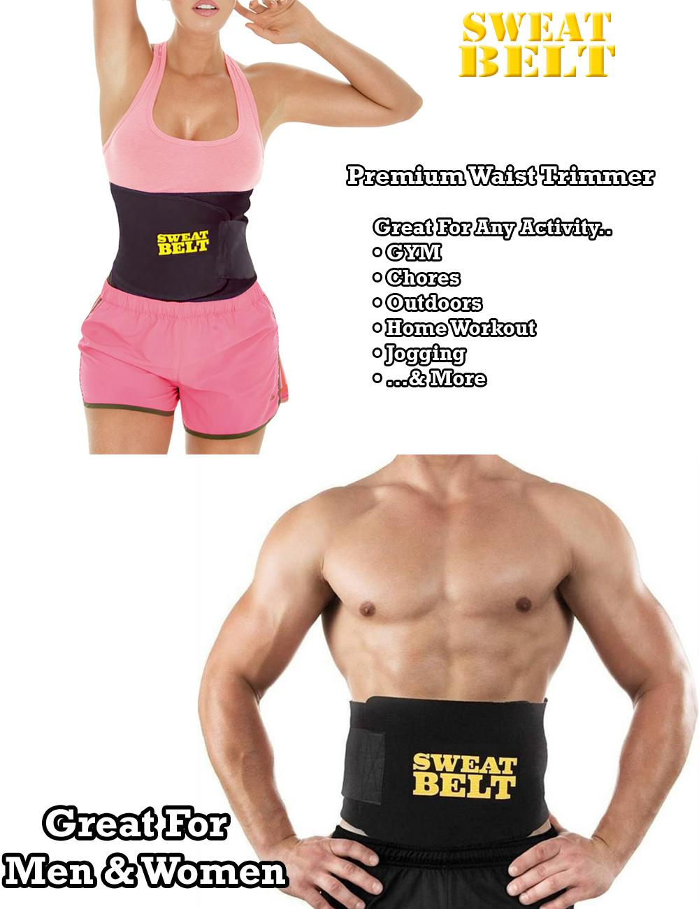 b1a6e271aa2 Specifications of SWEAT BELT Premium Waist Trimmer (Black)