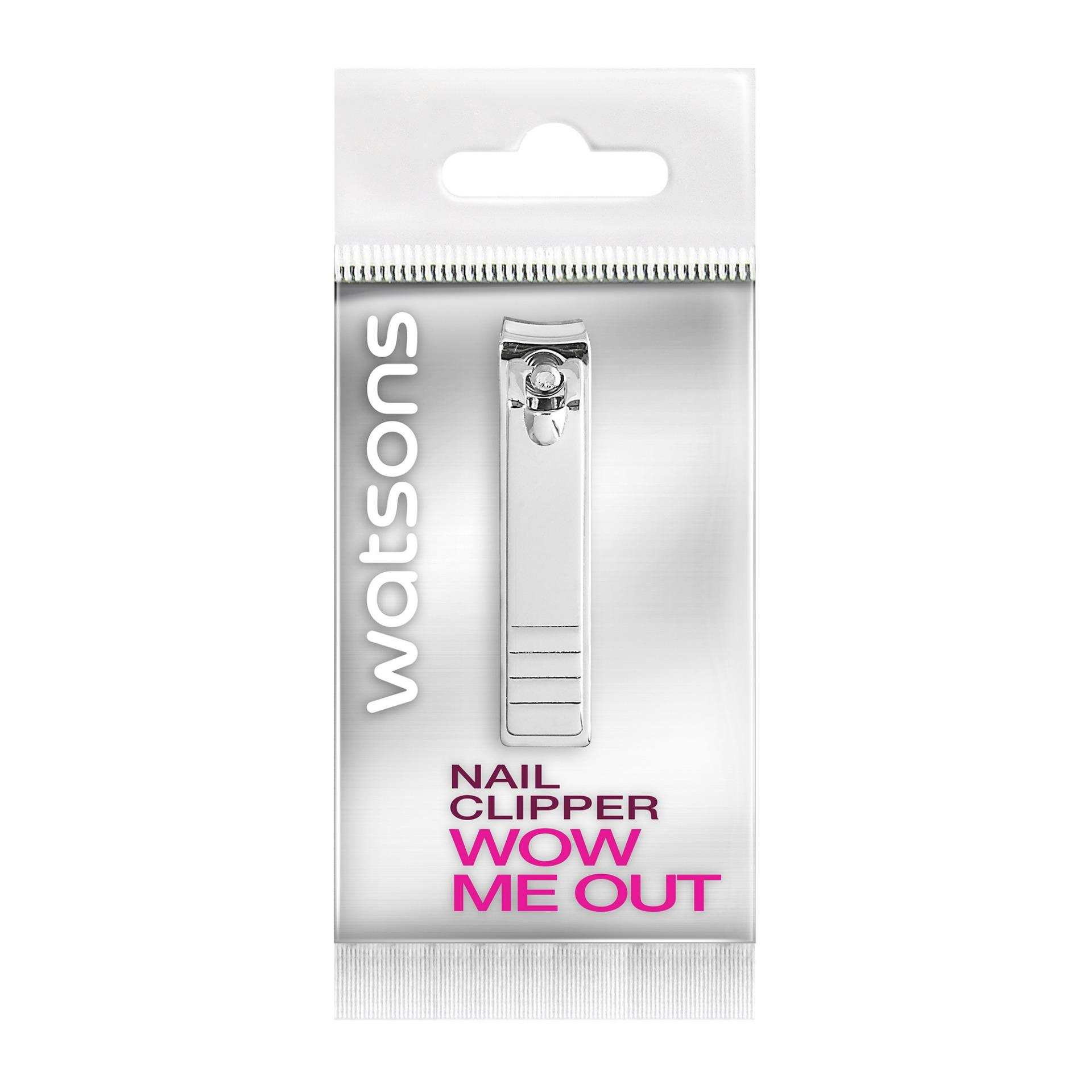 Watsons Nail Clipper With Miniature File By Watsons Personal Care Stores.