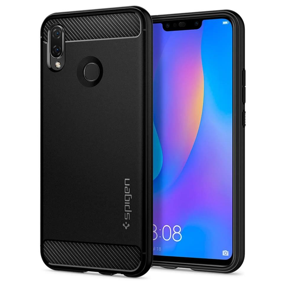 Spigen Huawei Nova 3i Case Rugged Armor Black