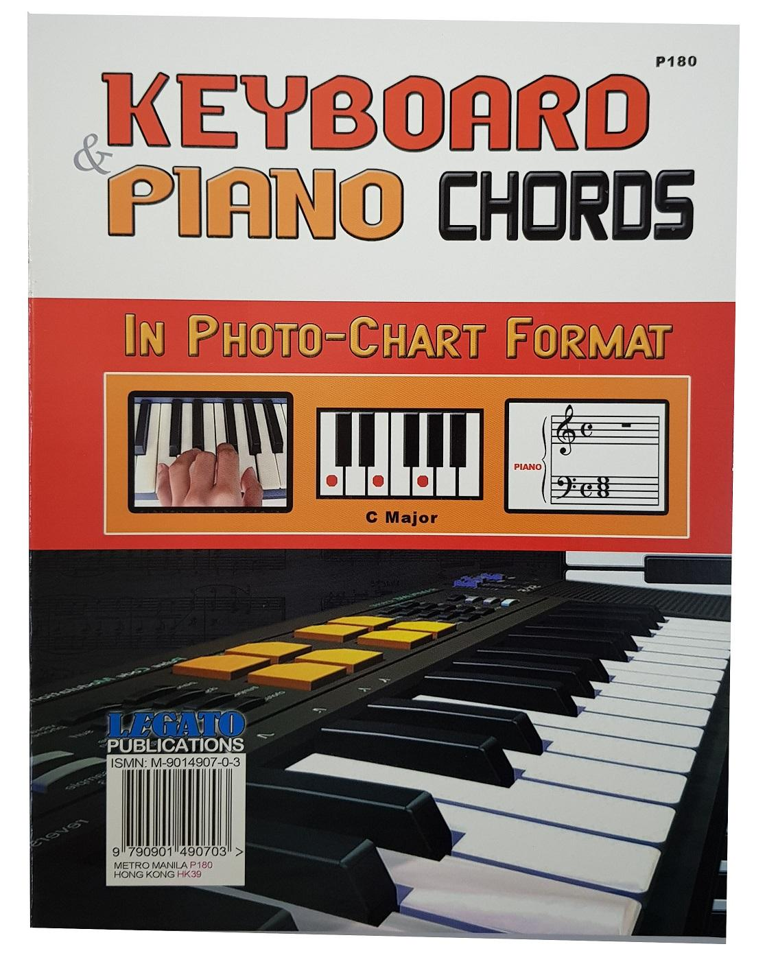 Keyboard & Piano Chords By Legato Publications.