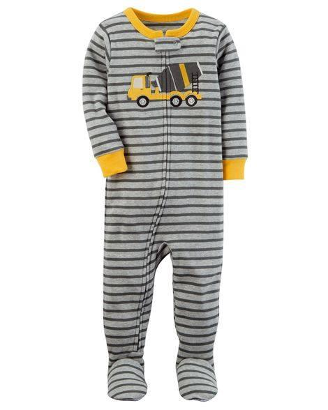 Carters Sleepsuit - Cement Mixer (24 Months) By Kinderposh.