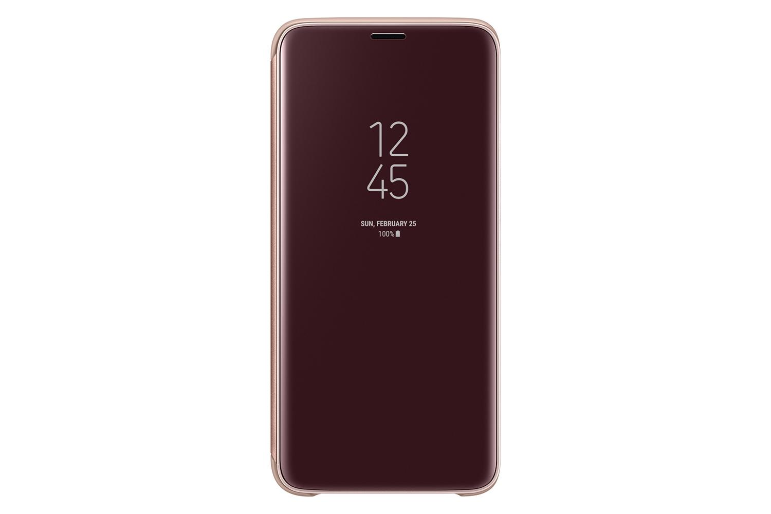 Samsung Galaxy S9 Clear View Standing Cover (Gold)