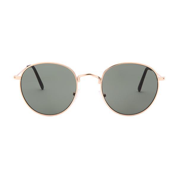 f9cb0ba065f Sunnies Studios Winona Slim Round Sunglasses for Men and Women (Soldier  Full)