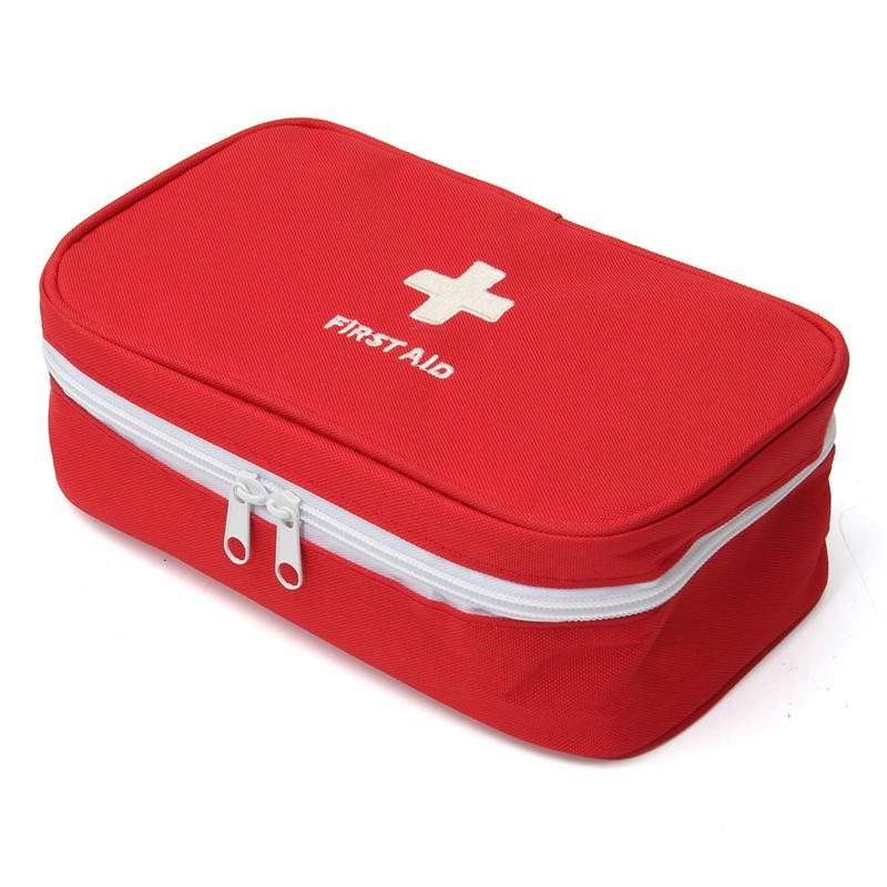 First Aid Pouch - Large- Bag Only - Travel Outdoor Emergency First Aid Organizern *lastdat By Lastday Shop.