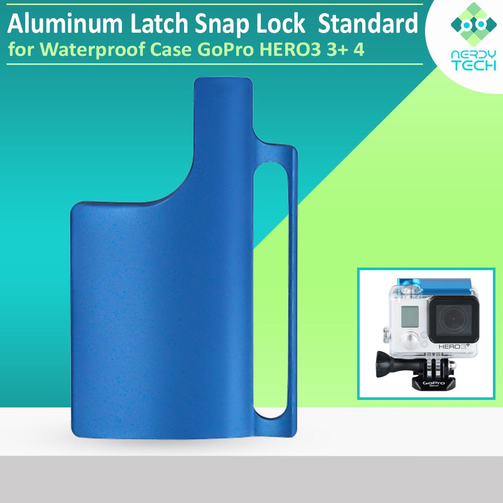 GoPro HERO3 3+ 4 Aluminum Latch Standard Snap Lock for Waterproof Case Latch Replacement