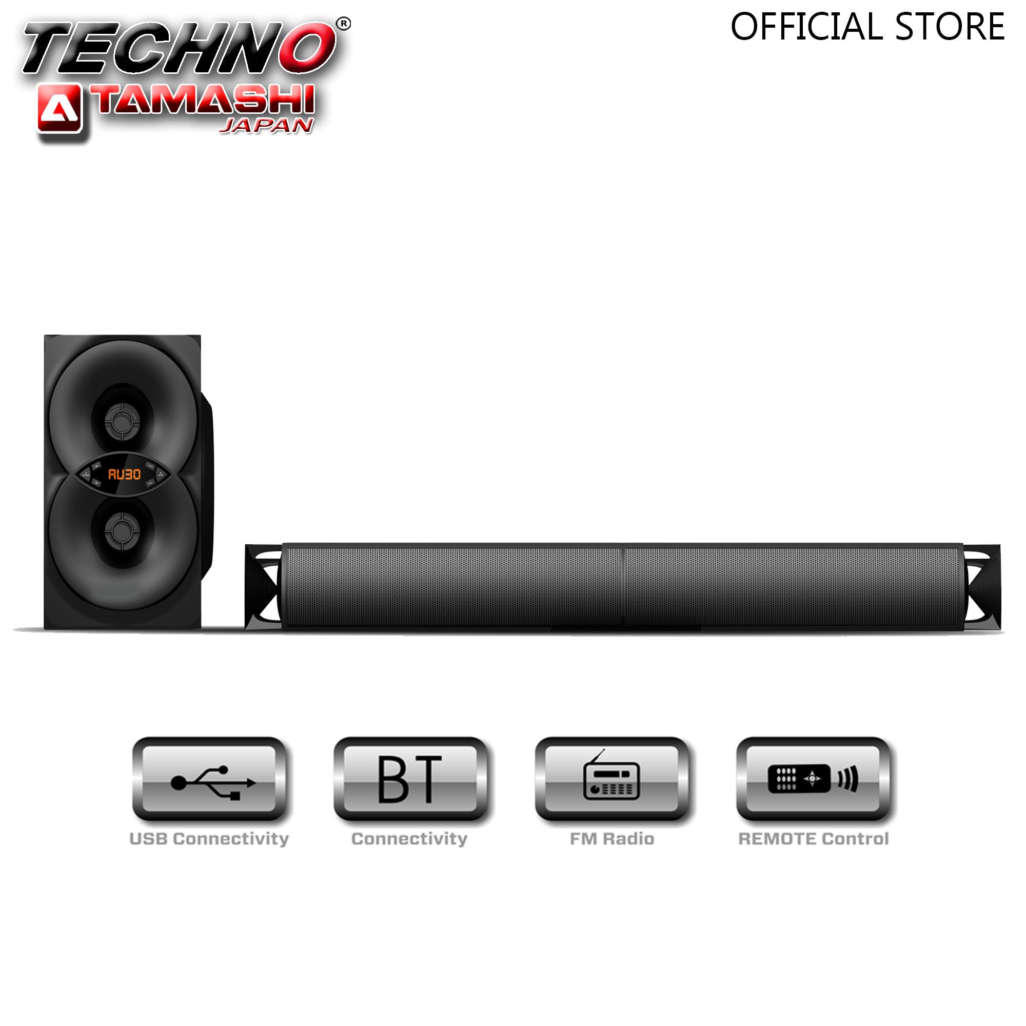 Techno Tamashi S7 Atlas 2 1 Channel Hybrid Soundbar