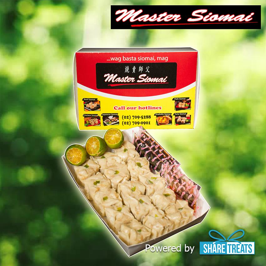 Master Siomai Chicken 15pcs (sms Evoucher) By Share Treats.